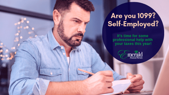 1099 self employed tax